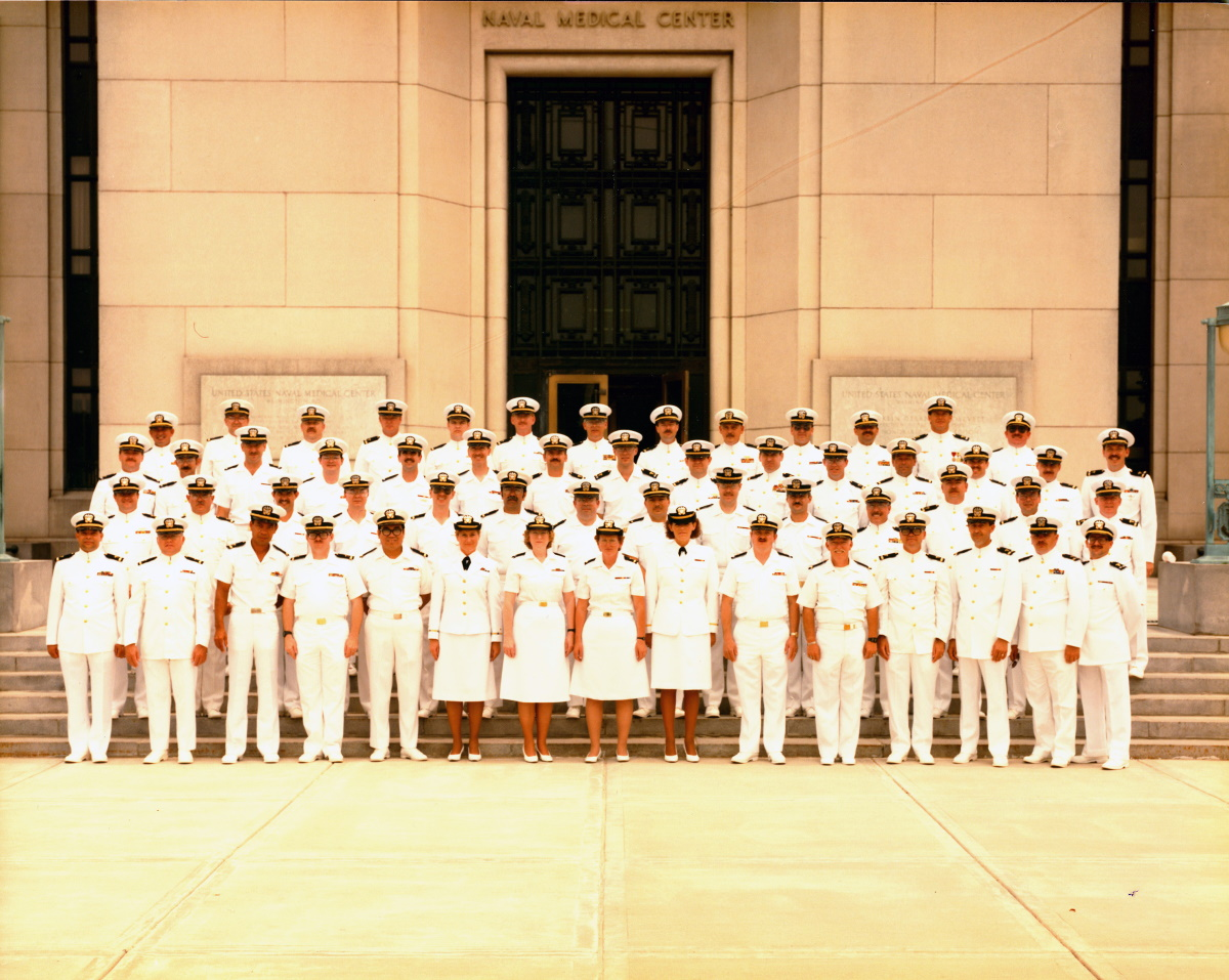First Physician Assistants to become part of the Medical Service Corps, May 1989.
