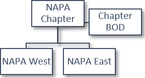 napa org structure 1