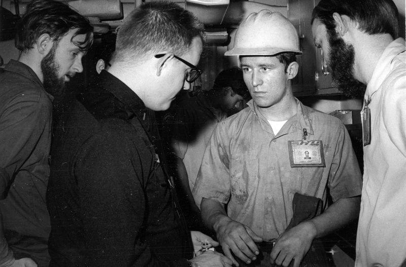 CWO2-James-Rich-aboard-USS-Kitty-HAwk-ca-1979-comp